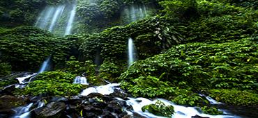lombok tour to waterfall
