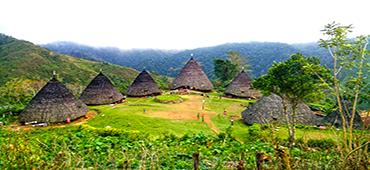 waerebo village Flores