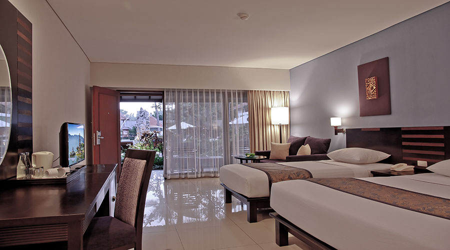 deluxe family room bali rani hotel