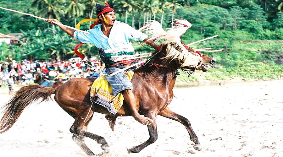 pasola sumba traditional war