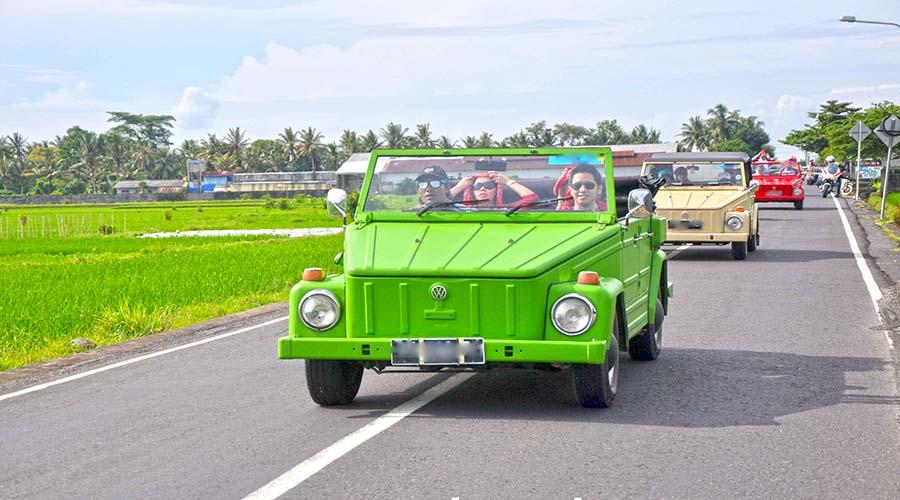 bali tour by volkswagen