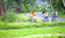 bali cycling tour east bali tour