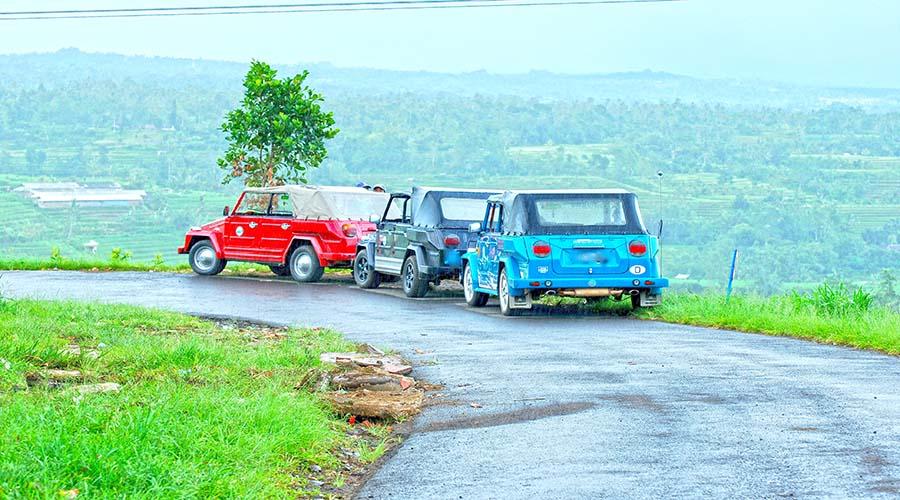 west bali tour by volkswagen safari